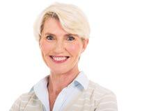 starzeje się kobieta centralna Obraz Stock