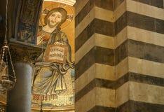 starzenie się kościelna mozaika centralna fotografia royalty free