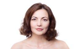 starzenie się piękna kobieta centralna Zdjęcie Stock