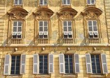 Starzy ładni okno zdjęcie royalty free