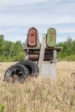 Starzy benzynowi zbiorniki Fotografia Stock