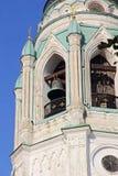 Starzy brązowi dzwony St Sophia Katedralny belltower w Vologda, Ru Zdjęcie Stock