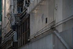 Starzy budynek użyteczności systemy Fotografia Royalty Free