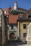 Starzy budynki Bratislava, Sistani - obrazy stock