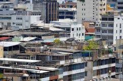 Starzy budynki Rattanakosin w Bangkok Zdjęcia Stock