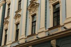 Starzy budynki w Chernivtsi Obraz Royalty Free
