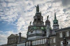 Starzy budynki w Montreal Obrazy Royalty Free