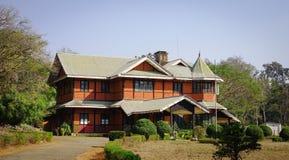 Starzy budynki w Pyin Oo Lwin, Myanmar Fotografia Stock