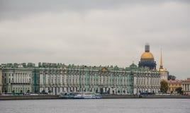 Starzy budynki w St Petersburg, Rosja zdjęcie stock