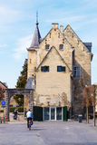 Starzy budynki w Valkenburg aan De Geul, holandie obrazy royalty free