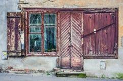 Starzy budynki w Vilnius Obraz Royalty Free