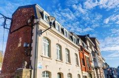 Starzy budynki w zdroju, Belgia Zdjęcie Royalty Free