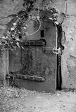 Starzy bunkierów drzwi przy Piaskowatym haczykiem Nowym - bydło Obraz Royalty Free