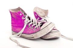 starzy buty Obraz Royalty Free