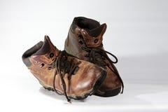 Starzy buty Zdjęcia Royalty Free