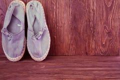 Starzy buty Obrazy Royalty Free