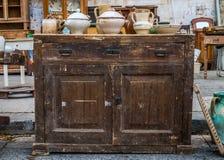 Starzy ceramiczni garnki Fotografia Stock