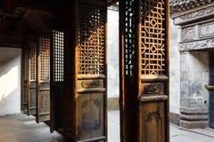 Starzy Chińscy drzwi Obrazy Stock