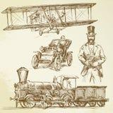 starzy czas ilustracja wektor
