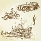 Starzy czas royalty ilustracja