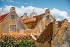 Starzy czerwoni dachy Obrazy Stock