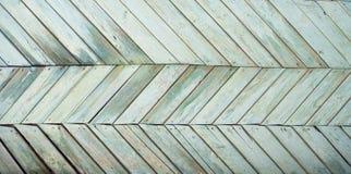 Starzy deska rzędy zielona drabina Obrazy Stock