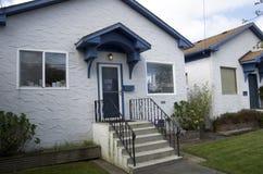 Starzy domy Obrazy Royalty Free