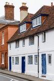 Starzy domy Anglia Zdjęcia Royalty Free