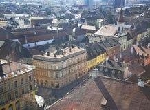 Starzy domy od Sibiu Fotografia Royalty Free