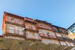 Starzy domy, Porto Obraz Royalty Free