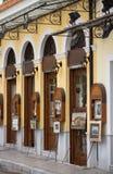 Starzy domy w Plaka, Ateny Zdjęcia Stock