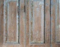 Starzy Drewniani drzwi i Kluczowa kędziorek fotografia Fotografia Stock