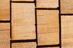 Starzy drewniani gonty dla kreatywnie tła, tekstura zdjęcia royalty free