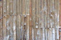 Starzy drewniani panel Obraz Royalty Free