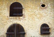 Starzy drzwi Obrazy Stock