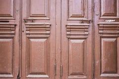 starzy drzwi Zdjęcie Royalty Free
