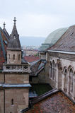starzy Geneva dachy Obraz Royalty Free