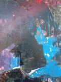 Starzy graffiti które tworzyli nową opowieść Fotografia Stock
