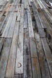 Starzy grunge drewna panel Obrazy Royalty Free