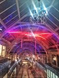 Starzy Hall nowi światła Obraz Royalty Free