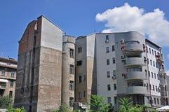 Starzy i Nowi budynki Zdjęcia Stock