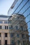Starzy i Nowi budynki Zdjęcie Stock
