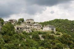 Starzy kamieni domy w wiosce Vitsa Zagoria, Epirus, Wester Obraz Royalty Free