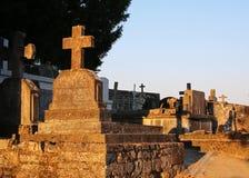 Starzy kamieni krzyże Obrazy Royalty Free
