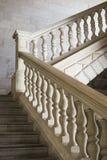 Starzy kamienni schodki z dekoracjÄ… obraz royalty free