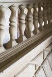 Starzy kamienni schodki z dekoracjÄ… zdjęcia stock