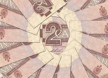 Starzy Kanadyjscy banknoty obrazy stock