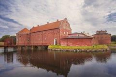 Starzy Landskrona cytadeli budynki Obraz Stock