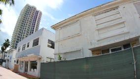 Starzy Miami plaży hotele wyburzać zbiory wideo