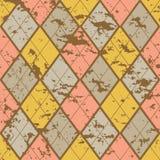 Starzy mod rhombuses Obrazy Stock